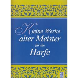 Haag Gudrun - Kleine Werke alter Meister für die Harfe (band 1)