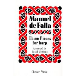 de Falla Manuel - 3 pièces pour harpe