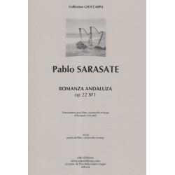 Sarasate Pablo - Colard Elisabeth - Romanza Andaluza (flûte, violoncelle & harpe)