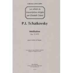 Tchaikovsky Piotr Ilitch - Barreiro Marino Alba - Méditation (violon & harpe)