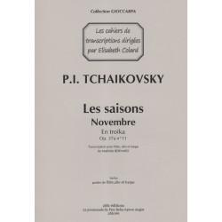 Tchaikovsky Piotr Ilitch - Bernard Mathilde - En troïka Op.37 N°11 (flûte, alto & harpe)
