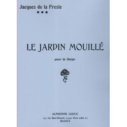 de la Presle Jacques - Le jardin mouillé