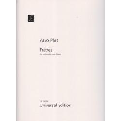 Pärt Arvo - Fratres (violoncello und klavier)