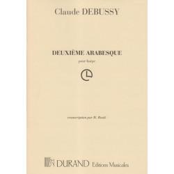 Debussy Claude - 2ème Arabesque