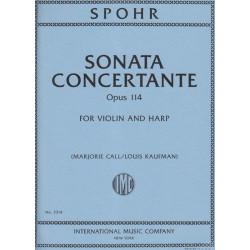 Spohr Louis - Sonata concertante Op. 114 (violin & harp)