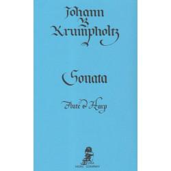 Occasion - Krumpholtz Jean-Baptiste - Sonate (flûte & harpe)