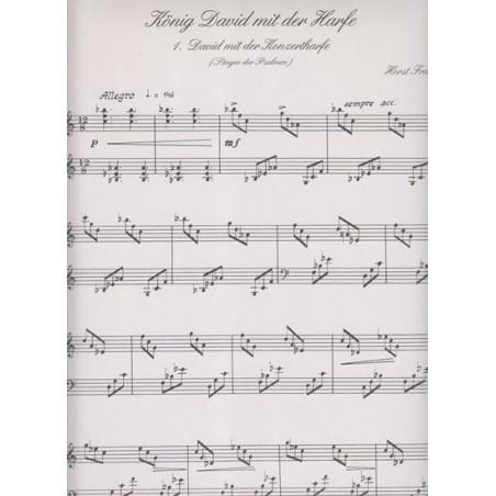 Franke Horst - Konig David der harfe (trilogie für harfe solo)
