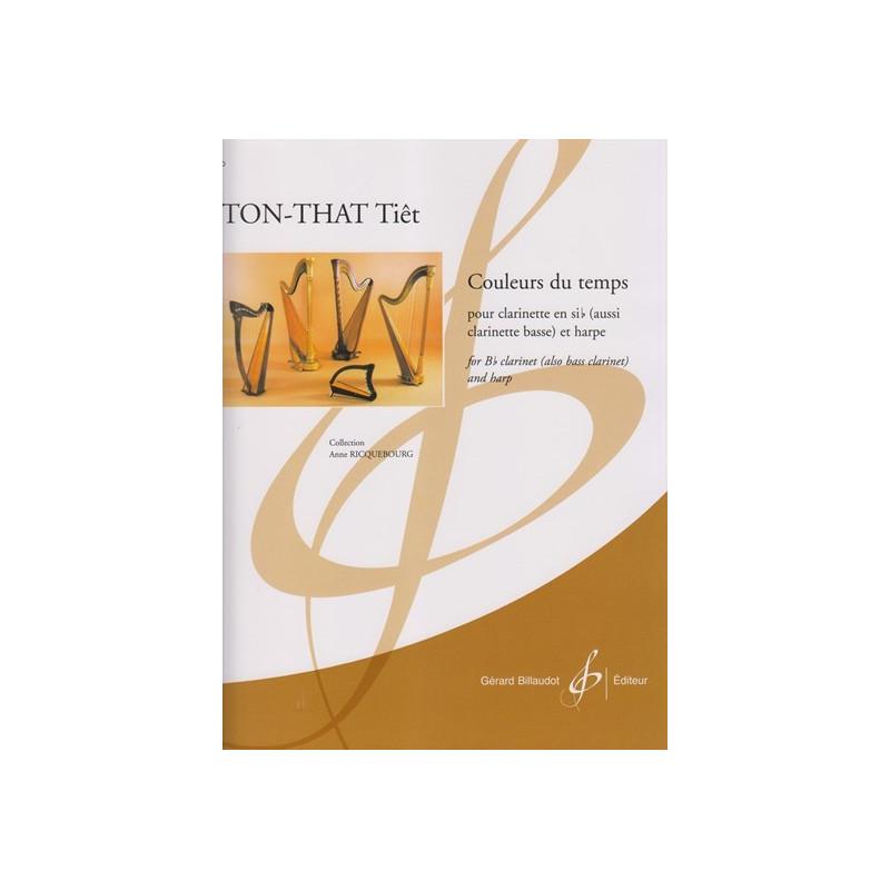 Ton-That Tiêt - Couleurs du temps (clarinette et harpe)