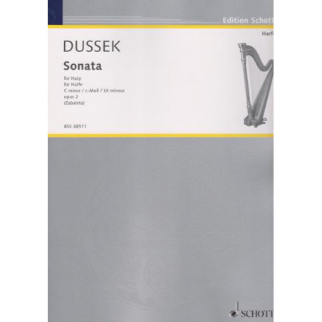 Dussek Sophia Giustani - Sonate en do m (Sonata in C minor)