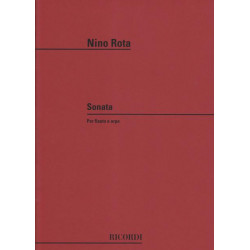Occasion - Rota Nino - Sonate (flûte & harpe)