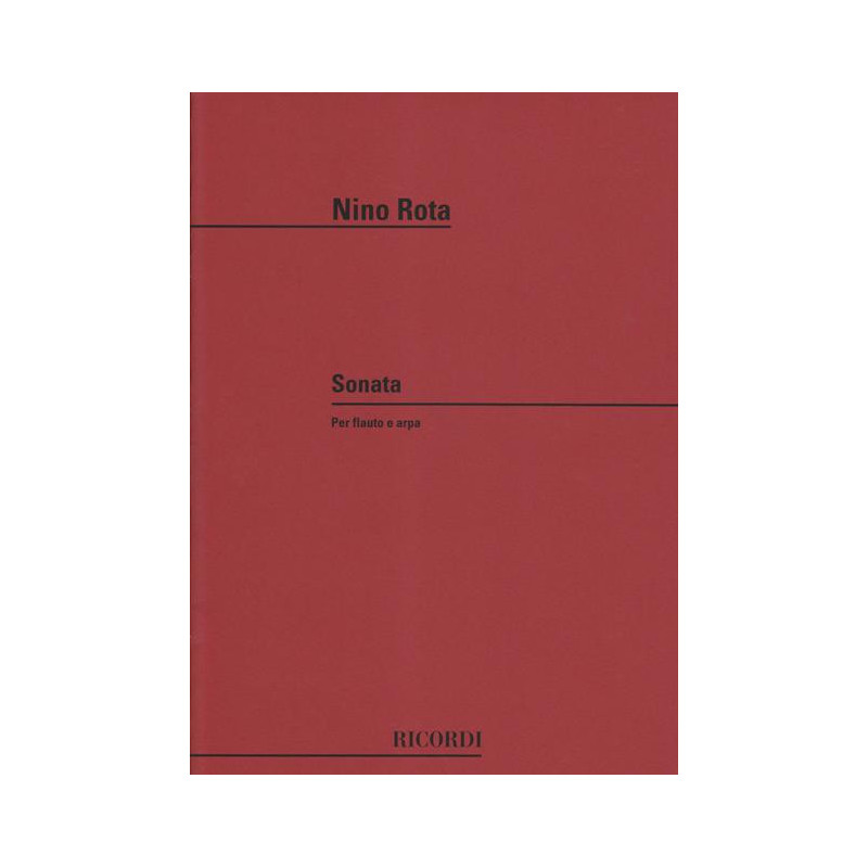 Rota Nino - Sonate (fl