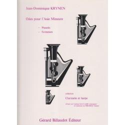 Krynen Jean-Dominique - Odes pour l'Asie (clarinette & harpe)