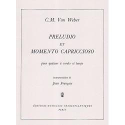 Weber Karl Marie von - Preludio & momento capricioso
