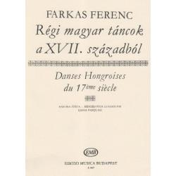 Farkas Ferenc - Danses Hongroises du 17ème siècle - Early hungarian dances from the 17 th