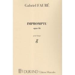 Fauré Gabriel - Impromptu