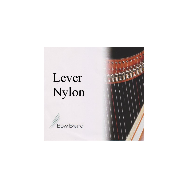 Bow Brand 02 (06) (G) Sol nylon for lever harp