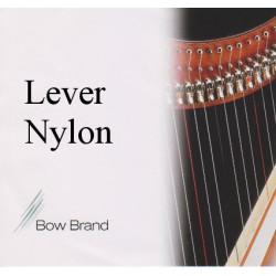 Bow Brand 0 (04) (B) Si nylon pour harpe celtique