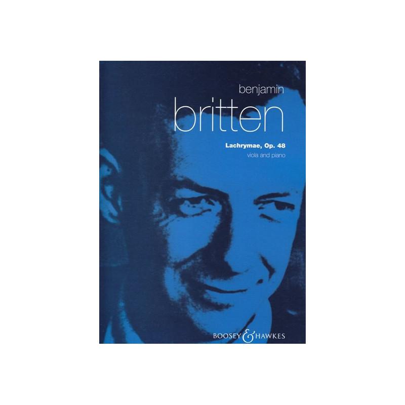 Britten Benjamin - Lachrymae (alto & harpe)