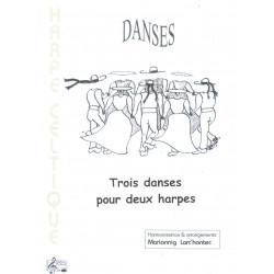 Larc'hantec Mariannig - Trois danses pour deux harpes