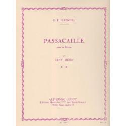 Haendel Georg Friedrich - Passacaille (B