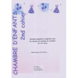 Anonyme - Chambre d'enfants - Chansons populaires Vol. 2 (flûte, violoncelle & harpe)
