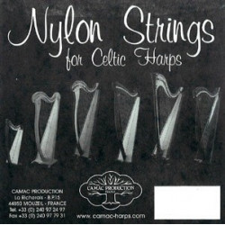 01 La - Camac nylon standard - harpe celtique