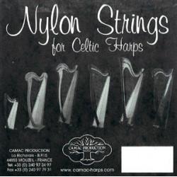 12 Ré - Camac nylon standard - harpe celtique
