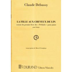 Debussy Claude - La fille aux cheveux de lin (Grandjany)