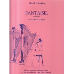 Grandjany Marcel - Fantaisie sur un th
