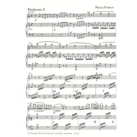 Flothuis Marius - Cadences du concerto de Mozart