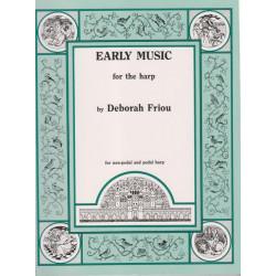 Friou Deborah - Early music for harp