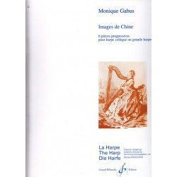 Gabus Monique - Images de Chine (harpe celtique ou grande harpe)