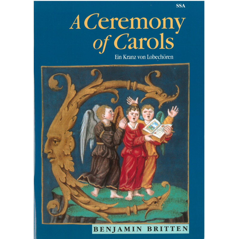 Britten Benjamin - A ceremony of Carols (voix & harpe)