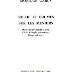 Gabus Monique - Soleil et brumes sur les menhirs (harpe celtique