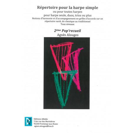 Alouges Agnès - 2ème Pop'recueil
