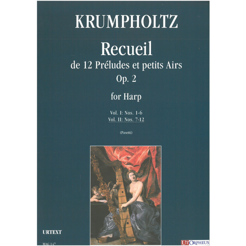 Krumpholtz - Recueil de 12 préludes et petits airs - Vol 2