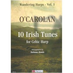 O'Carolan - 10 irish tunes for Celtic Harp