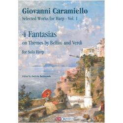 Caramiello Giovanni - 4 fantaisies sur thèmes de Bellini et Verdi