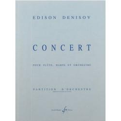 Denisov Edison - Concerto (flûte, harpe & orchestre)