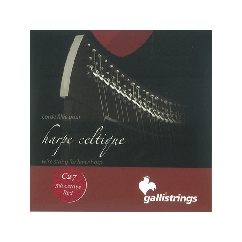 27 (C) Do Wire for lever harp