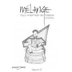 Pernel François - Mélange ( pour ensemble de harpes à leviers - Vol 2)