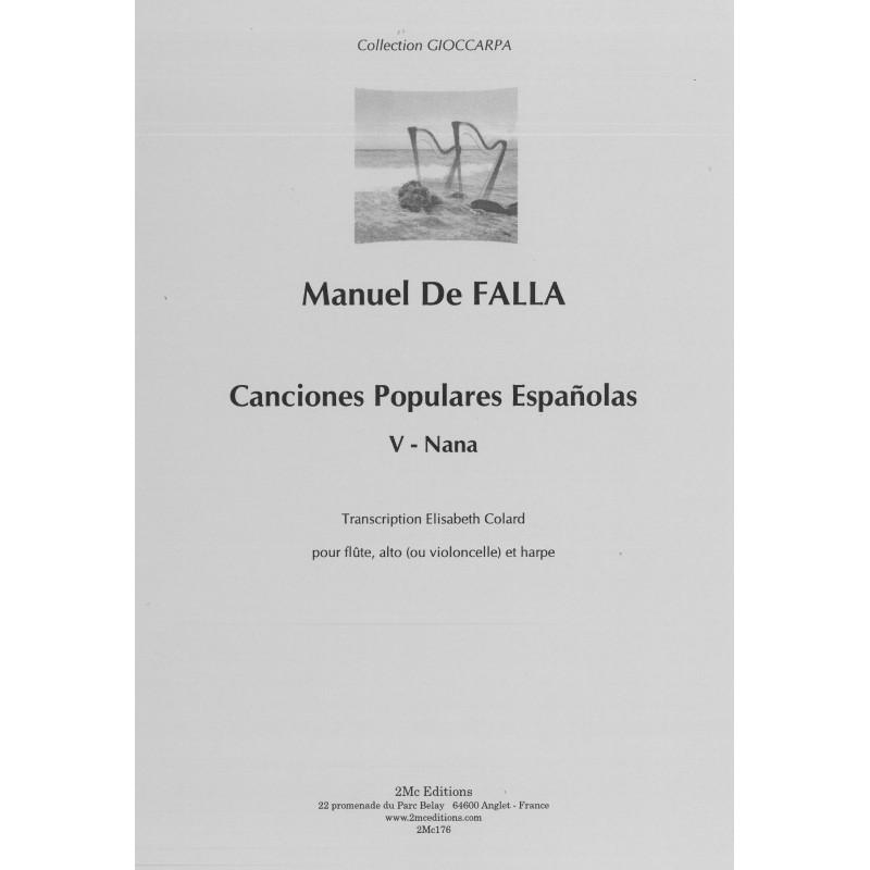 De Falla Manuel - Canciones populares españolas - Nana