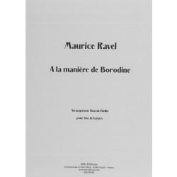 Ravel Maurice - A la manière de Borodine