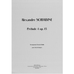 Scriabine Alexandre - Prélude 4 Op.15