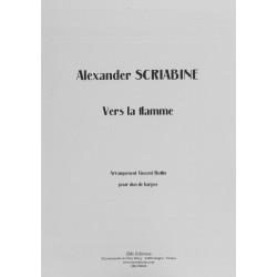 Scriabine Alexandre - Vers la flamme