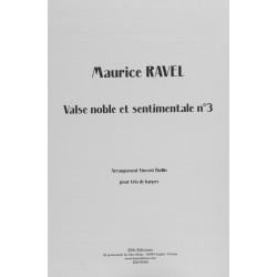 Ravel Maurice - Valse noble et sentimentale n°3