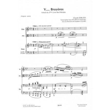 Debussy Claude - Extrait du 2ème livre des Préludes - Bruyères