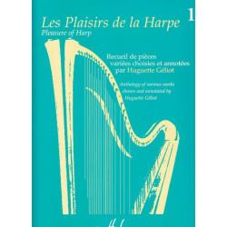 Géliot Huguette - Les plaisirs de la harpe vol.1
