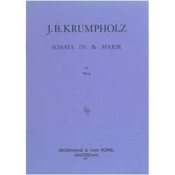 Krumpholtz Jean-Baptiste - Sonate en si b Majeur