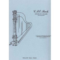 Bach Carl Philipp Emmanuel - Sonate in G Major (Weidensaul Jane B.)